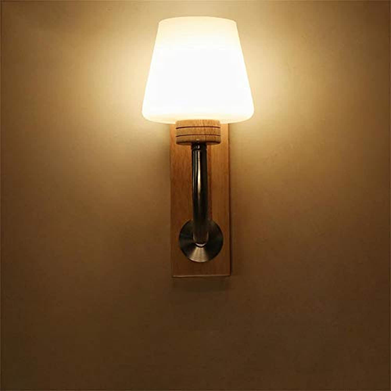 Die kreative Holz Nachttischlampe minimalistischen modernen nordischen Persnlichkeit Fashion Lounge die Zimmer im japanischen Stil Holz Wand - Effizienz  Ein ++++