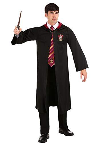 Jerry Leigh Harry Potter - Bata de Gryffindor para adulto (talla grande) - negro -...