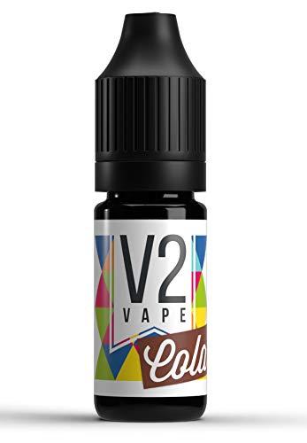 V2 Vape Cola AROMA / KONZENTRAT hochdosiertes Premium Lebensmittel-Aroma zum selber mischen von E-Liquid / Liquid-Base für E-Zigarette und E-Shisha 30ml 0mg nikotinfrei