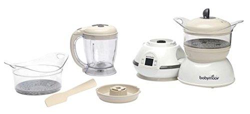 Babymoov Nutribaby Classic Cream Robot Multifonctions 5 en 1 Cuiseur Mixeur pour...