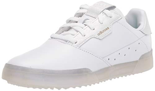 adidas Women's Golf Shoe, White/White/Clear Mint, 8.5
