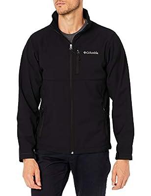 Columbia Men's Ascender Softshell Front-Zip Jacket, Black, XX-Large