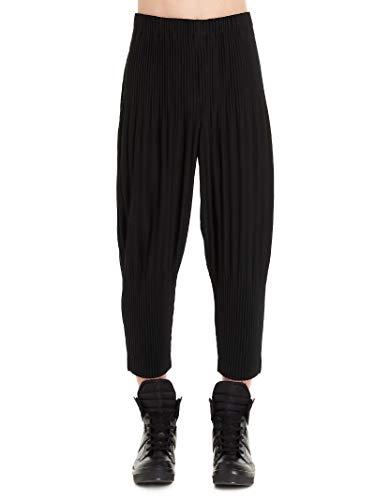 HOMME PLISSÉ ISSEY MIYAKE Luxury Fashion Mens Pants Winter Black