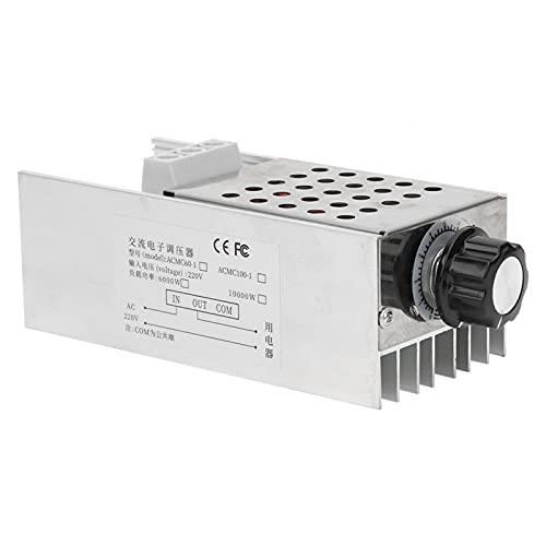 Regulador de Voltaje SCR 10000W regulador de Velocidad del Motor regulador de Voltaje electrónico para regulador de Voltaje de Horno eléctrico