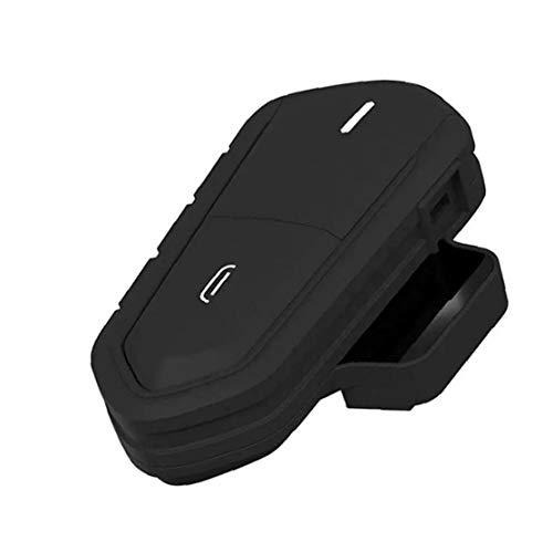Runfon 2.4ghz Casco Auricular Bluetooth Moto de la Motocicleta Auricular Impermeable FM Radio inalámbrica Casco Auricular de Manos Libres de Llamadas