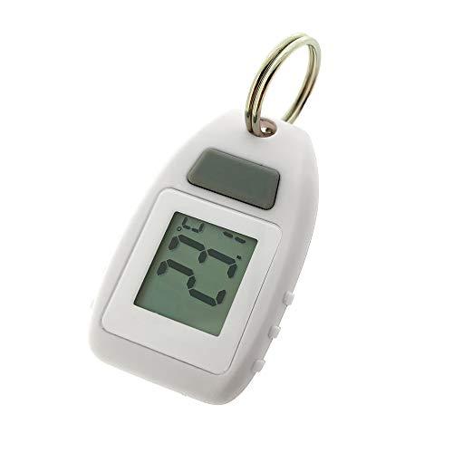 Sun Company Digital Zipogage - Compact Zipperpull Digital Thermometer   for Skiing, Snowboarding,...