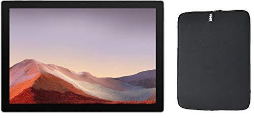 "Microsoft Surface Pro 7 12.3"" (2736x1824) 10-Point Touch Display Tablet PC w/WOOV Accessory Bundle, Intel 10th Gen Core i5, 8GB RAM, 128GB SSD, Windows 10, Platinum (Latest Model)"