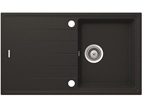 Schock Superb D-100 S A Onyx Auflage Granitspüle Küchenspüle 1 Becken