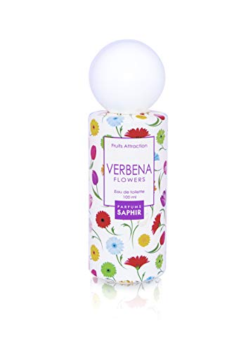 PARFUMS SAPHIR Fruit Attraction Verbena Eau de Toilette para Mujeres, 100 ml