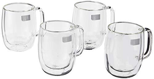 ZWILLING J.A. Henckels Kaffeebecher-Set 340 ml, transparent