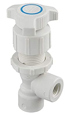 """Marquest NA-500-PPR 109239 1/2"""" x 1/2"""" Female NPT Angle Needle Valve-PP from Marquest"""