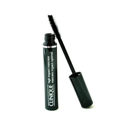 Clinique High Impact Mascara 01 Black For Women 0.28 Ounce Giving Rich Intense Color Long Wearing Unboxed
