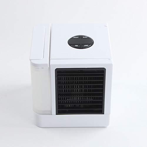 XLTKTS12 Aire Acondicionado Mini humidificador Multifuncional casero de Escritorio de la Fan del Aire Acondicionado del pequeño USB pequeño, de Poco Ruido