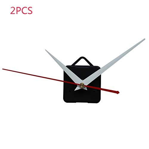 LUCOG Move Ment, DIY Quartz Clock Movement Tool Repair Parts Mute Kit Set 2pc Clock Liquidation de décoration (D)