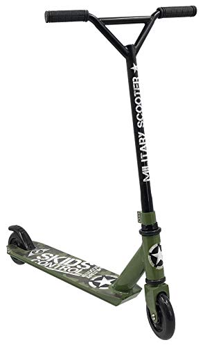 Stamp Trottinette Military SKIDS Control Scooter Freestyle JB247001, KAKI, Green