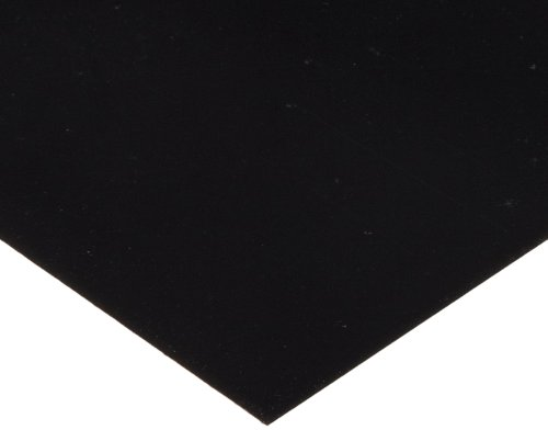 PVC 0.060 Thickness 10 Width 20 Length Pack of 1 Polyvinyl Chloride Flat Sheet Clear Shim Stock