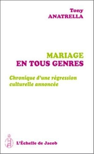 mariages en tous genres