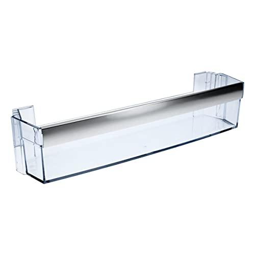 AEG Electrolux 265104902 265104902/1 - Vaschetta portaoggetti per bottiglie, scomparto laterale, porta del frigorifero, 485 x 100 mm, per frigorifero anche ElektroHelios Husqvarna