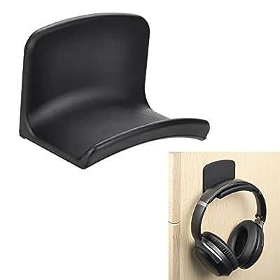 Neetto Headphone Hanger Holder Wall Mount, Headset Hook Under Desk, Universal Adhesive Stand for Sennheiser, Sony, Bose, Beats, AKG, Audio-Technica, Gaming Headphones, Earphones, Cables - HS907 from Avantree