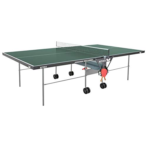 Butterfly Personal Ping Pong Table | Game Table for Kids Table Tennis Table Indoor | Folding Ping Pong Table | 3 Year Warranty | Holder for Ping Pong Paddles and Ping Pong Balls | Free Ping Pong Net