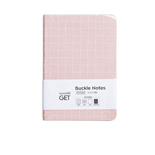 WYH Composition Notebook Diary Journal 128 Lined Pages Multiple Styles Diaries Notepad for Teen Girls And Boys (Color : Pink, Size : 3.93 * 5.62in)