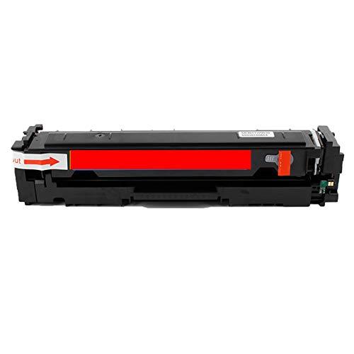 Cartucho de tóner compatible HP CF540A para impresora HP Color Laserjet Pro M254dn M254dw M254nw MFP280 M280nw 281cdw 281fdn 281fdw magenta de alta resolución