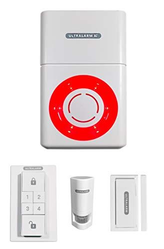 Kit de Alarma Ultrasarm 3G Sirena a Pilas gsm autónomo Exterior 100% inalámbrico