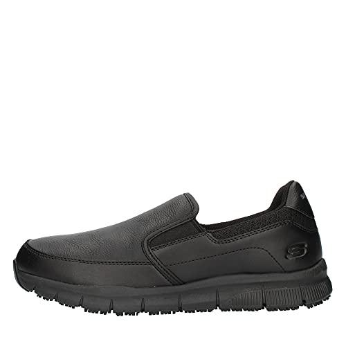 Skechers NAMPA Groton, Mocasn Hombre, Color Negro, 45 EU