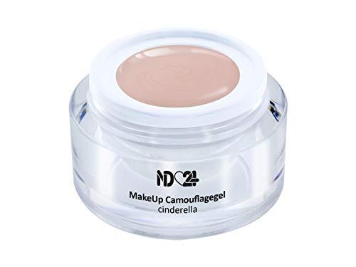 5ml - Make Up CAMOUFLAGE Aufbau - Gel cinderella - nd24 BESTSELLER - BabyBoomer Naildesign UV/LED Gelnägel Nagelgel - Studio Qualität - MADE IN GERMANY