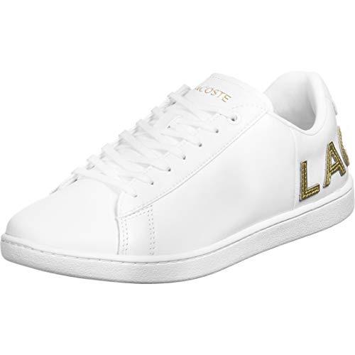 Lacoste Damen Carnaby Evo 120 6 Us SFA Sneaker, White 421G, 39 EU