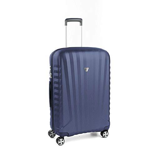 Roncato Mittelgrosser Spinner (M) Hartschalen UNO Zsl Premium 2.0 - cm 72 x 46.5 x 24 Fassungsvermögen 72 L Leicht Organisierter Innenraum TSA-Schloss 10 Jahre Garantie