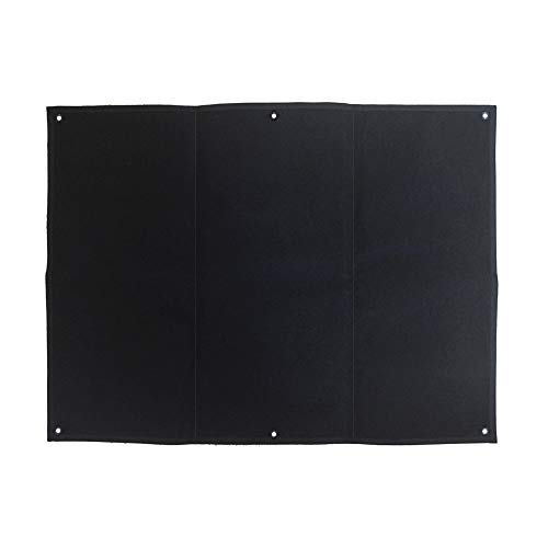 Aoutacc Taktische militärische Patchhalter Board Hook & Loop Moral Patch Panel (84 x70cm)