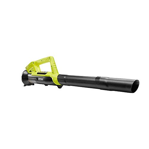 RYOBI 18-Volt Cordless Leaf Blower/Sweeper (Bare Tool P2109, Without Battery and Charger) (Renewed)