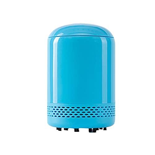 pzcvo Mini Aspiradora De Mesa Mini Aspirador Aspiradora de Escritorio Mini Mini aspiradora de Escritorio Portátil portátil de Escritorio vacío Blue,One Size