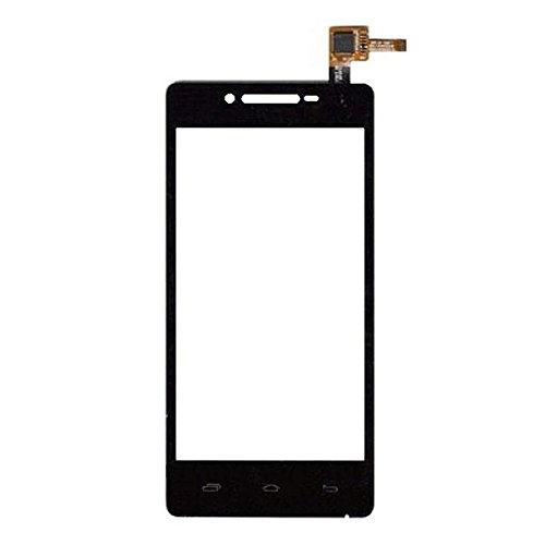 Touch Screen Digitizer Glass for Micromax Canvas Fun A74 - Black
