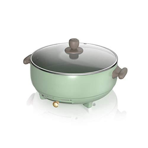 LZC Sartén de Cocina eléctrica multifunción, Olla de cocción eléctrica...