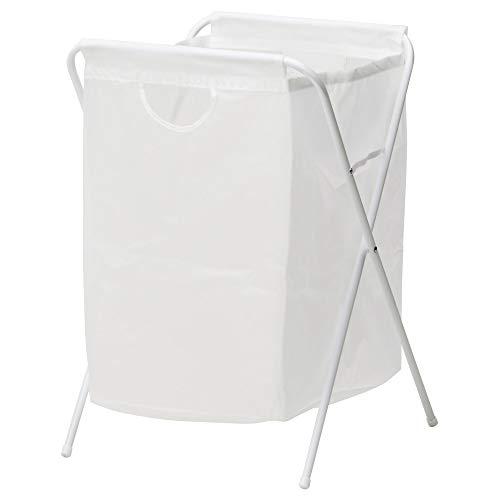 IKEA(イケア) J?LL 10171826 ランドリーバッグ スタンド付き, ホワイト