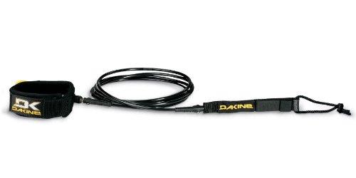 Dakine Longboard Kainui Calf Leash, Unisex, 6280210-Black, Schwarz, 10-Feet x 1/4-Inch