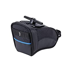 OPTIMAL USE OF SPACE: BBB Cycling's CurvePack is a reflective seat bag that fits into the best, natural position under the bike saddle WATERPROOF & RATTLE-FREE: The storage bag has a waterproof zipper and the CurvePack stays securely in its place wit...