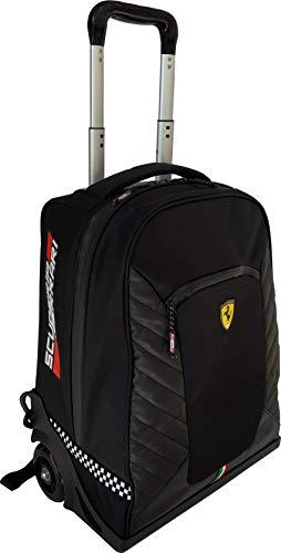 Ferrari Zaino Scuola Trolley Organizzato Scuderia Nero 63186