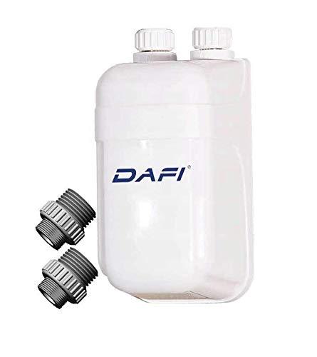 Durchlauferhitzer Dafi 3,7 kW bis 11kW Kleindurchlauferhitzer Weiß Untertisch mit Nyppel (7,5kW)