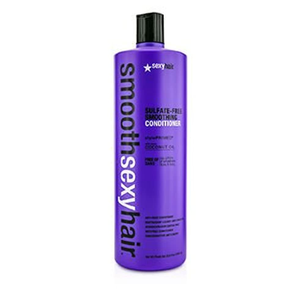 勇気のある鮫発明[Sexy Hair Concepts] Smooth Sexy Hair Sulfate-Free Smoothing Conditioner (Anti-Frizz) 1000ml/33.8oz