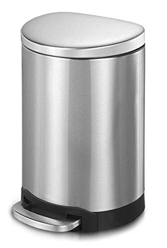 Innovaze Step Excellent Trash Can Semi Round with Special Campaign Garbage Pla Bin Stylish