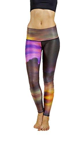 teeki Nubes Yoga Pantalones Caliente ecológica (.) - -