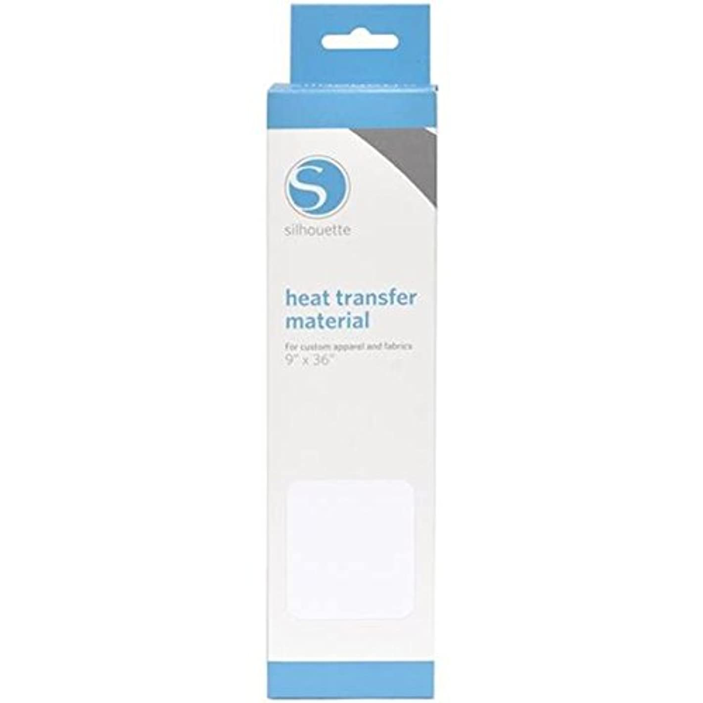 Silhouette Smooth Heat Transfer, White