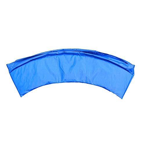 Almohadilla de repuesto para cama elástica, universal, espuma de seguridad, cubierta para borde de trampolín o uso clínico, 1,8 m,6IN,azul