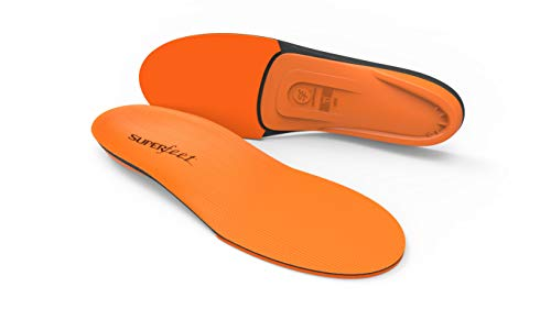 Superfeet ORANGE Insoles, High Arch Support and Forefoot Cushion Orthotic Insole for...