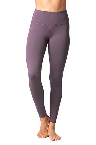 90 Degree By Reflex - High Waist Power Flex Legging – Tummy Control - Mulberry - Small