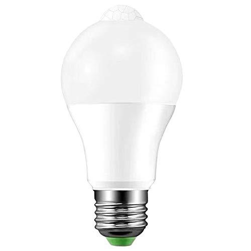 Cikuso Luz de Bulbo horro de Energía 12W Llevó la Luz Del Sensor Del Cuerpo Del Control de la Luz Super Brillante Del Bulbo