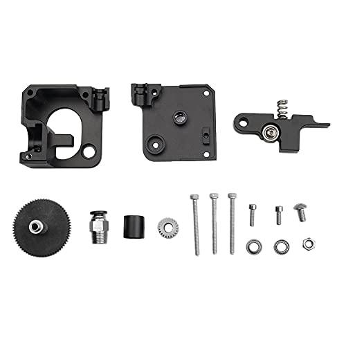 Metal/Fit For E3.d/Fit For Titan/Fit For Aero Extruder/Fit For Prusa I3 / Fit For MK2 3D Printer 1.75mm Short Distance And V6 Remote Bowden Extruder (Color : Black Extruder Sets)